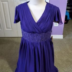 Purple Formal Gown/Prom Dress